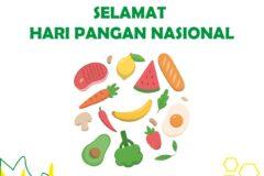 Hari Pangan Nasional | Sehat