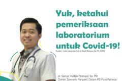 Pemeriksaan Laboratorium untuk Covid-19