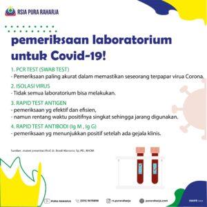 Pemeriksaan Laboratorium Covid-19