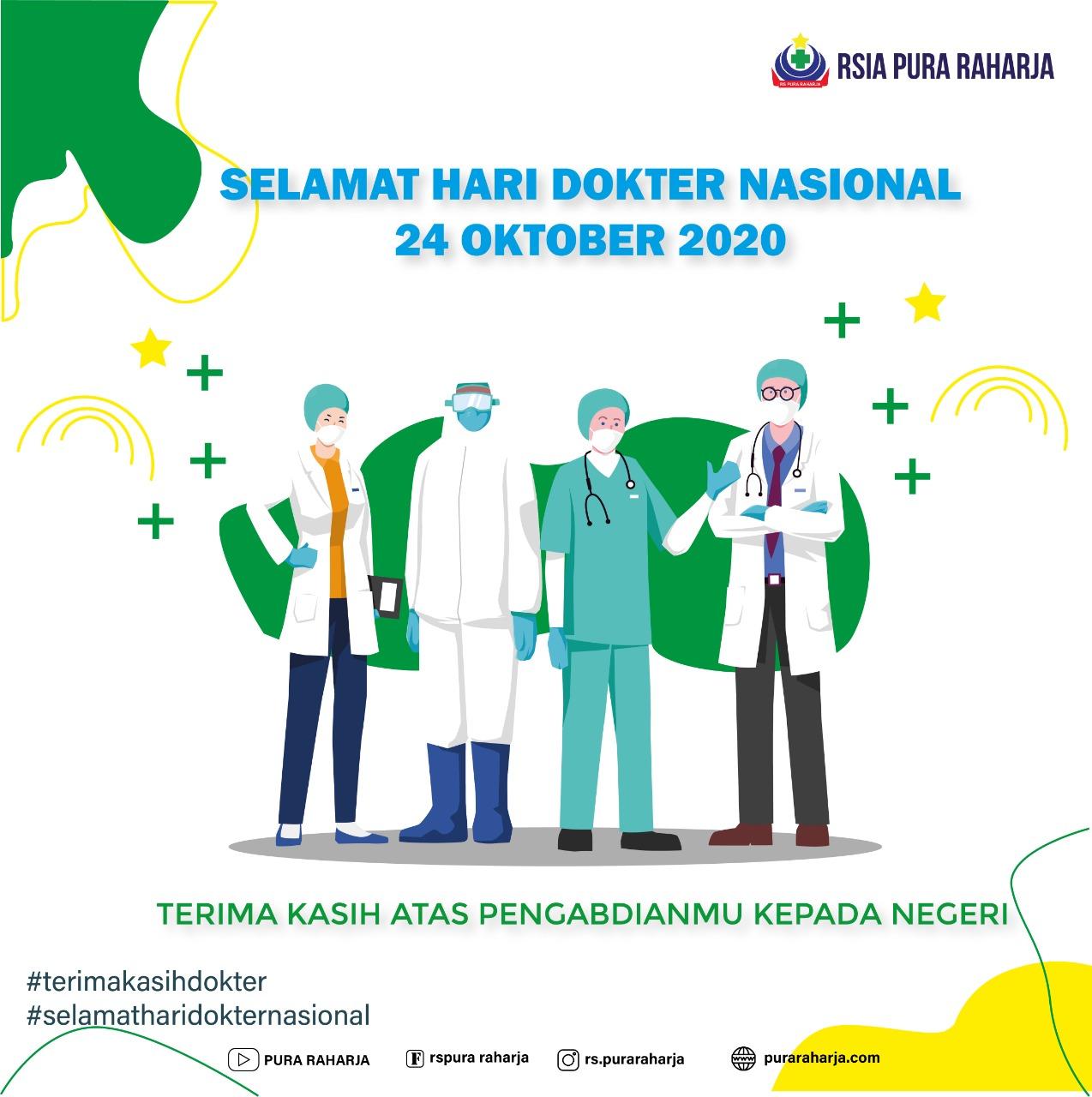 Selamat Hari Dokter Nasional