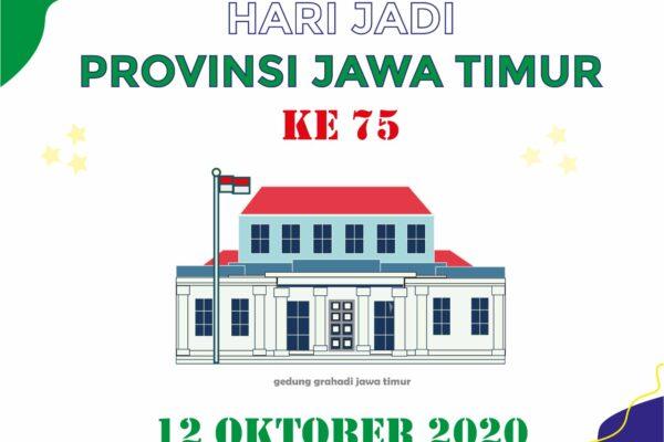 Selamat hari jadi Provinsi Jawa Timur yg ke-75