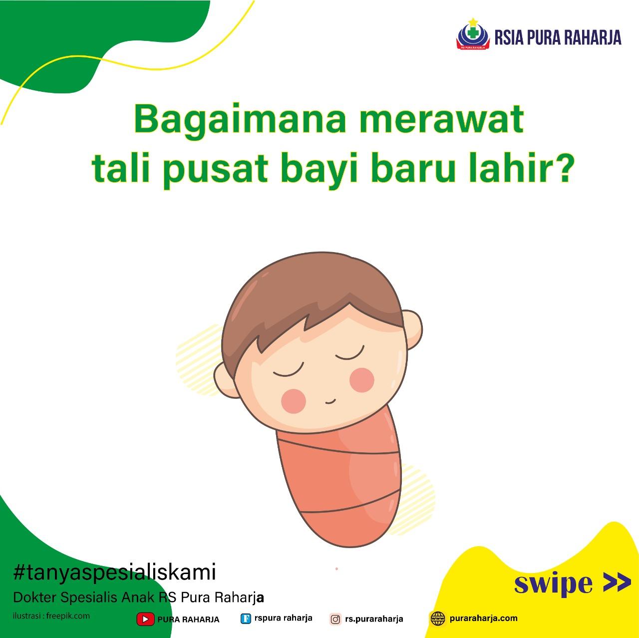 Merawat Tali Pusat Bayi Baru Lahir
