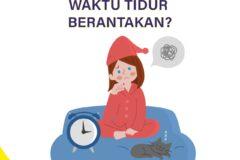 Waktu Tidur Berantakan, Yuk Perbaiki Dengan Tips Berikut