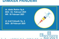Aman Imunisasi Masa Pandemi