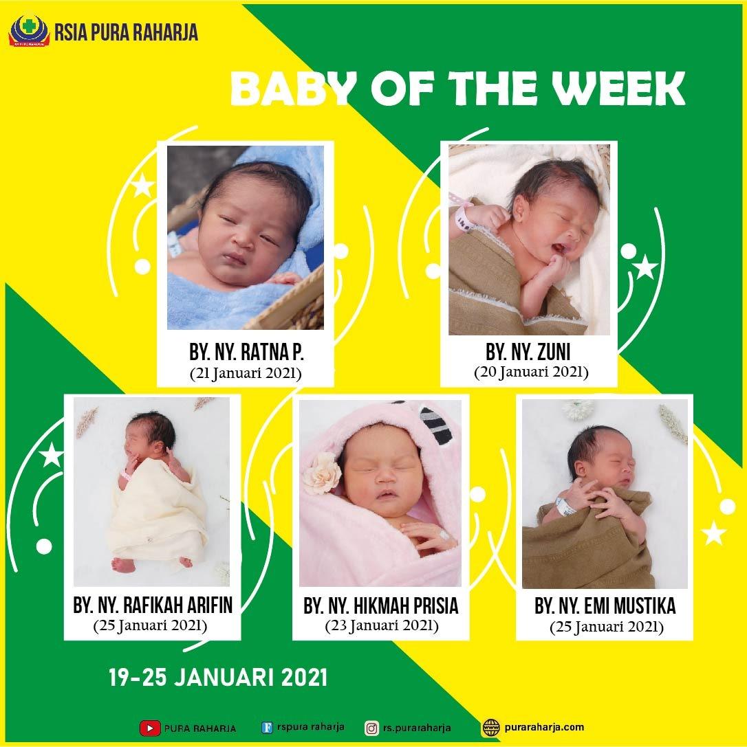 Baby of The Week 25 Januari