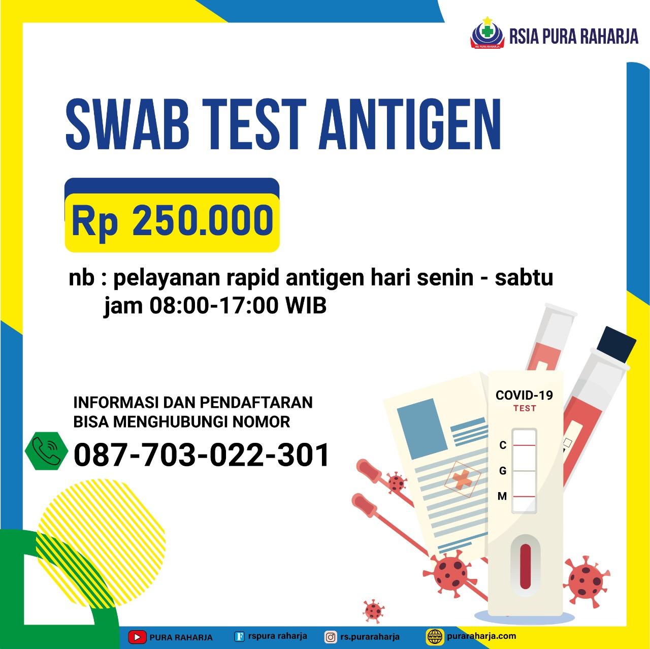 Swab Test Antigen