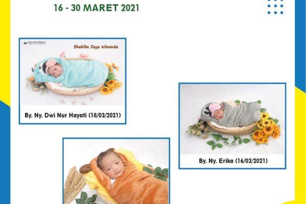 Baby of The Week 16 - 30 Maret 2021