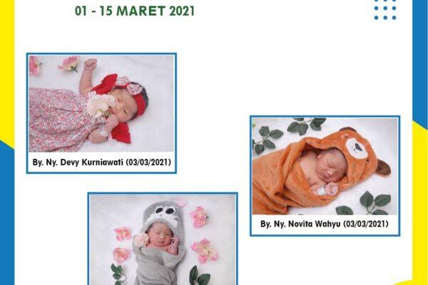 Baby of The Week 1 - 15 Maret 2021