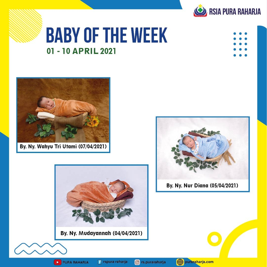 Baby of The Week 01 - 10 April 2021