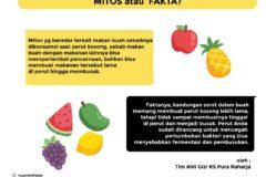 Buah-buahan sebaiknya Dimakan pada Saat Perut Kosong | MITOS atau FAKTA
