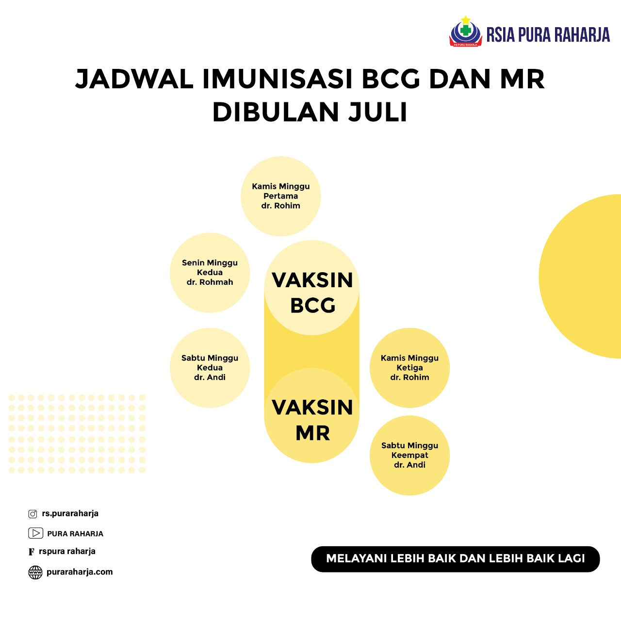 Si Kecil sudah imunisasi MR dan BCG, yuk intip