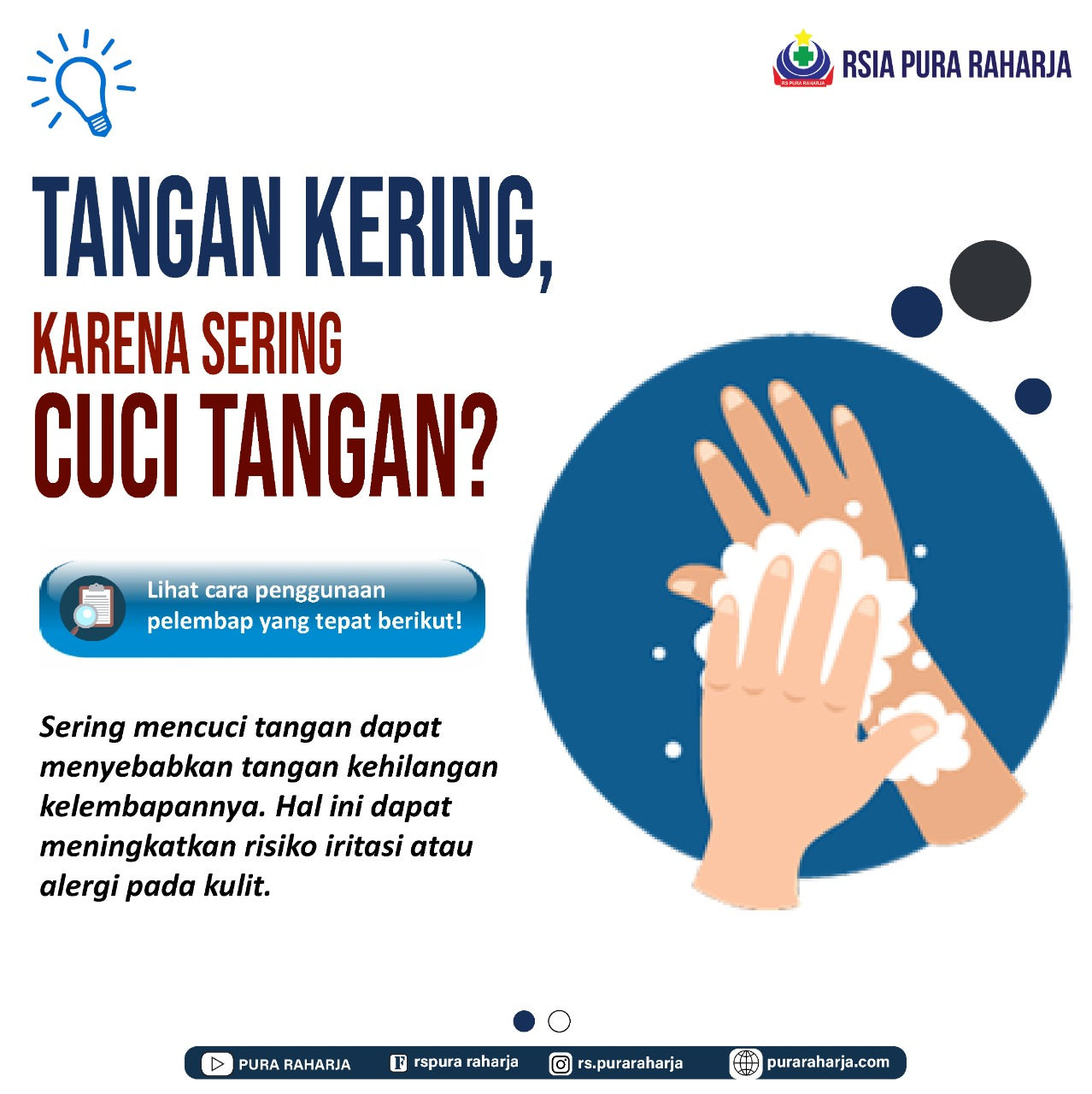 Tangan Kering Karena Sering Cuci Tangan ? Cari Tahu Solusinya Disini