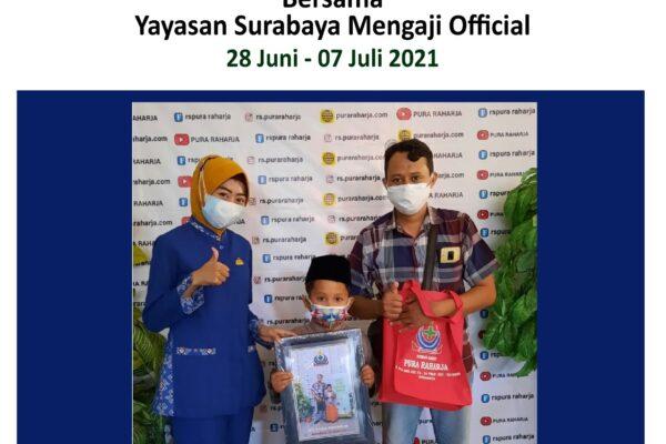 Khitan Massal Gratis oleh RS Pura Raharja bersama dengan Yayasan Surabaya Mengaji Official
