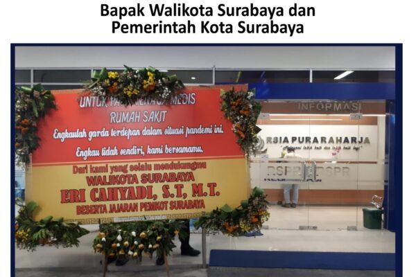 Terima kasih kepada Bapak Walikota Surabaya