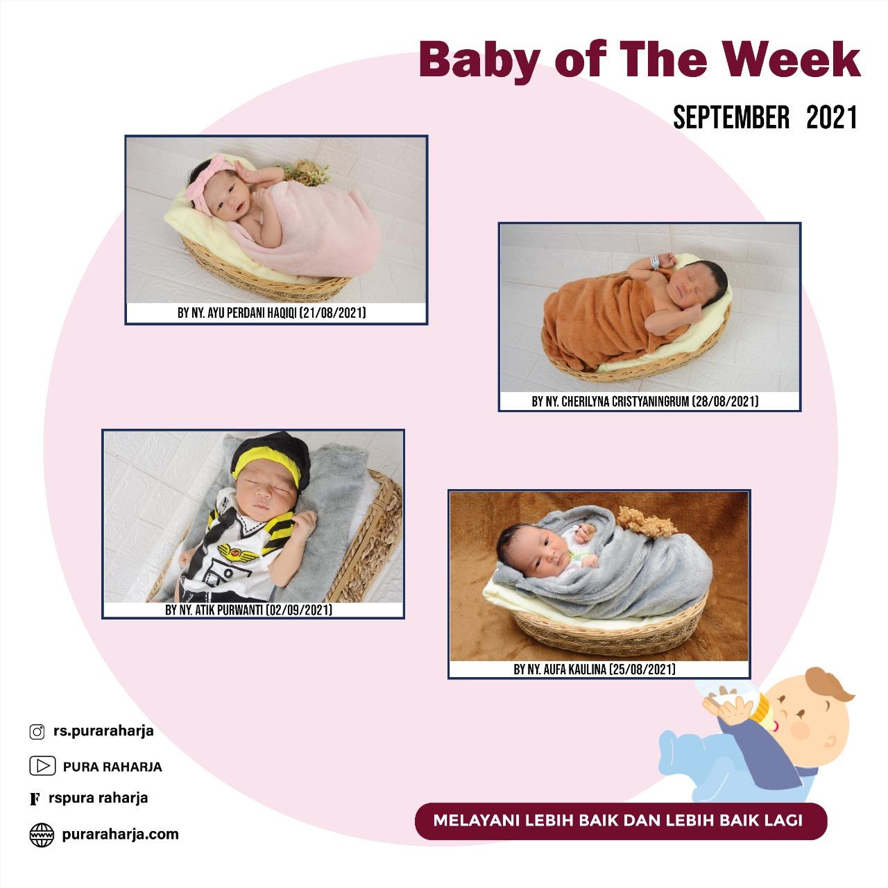 Baby Born in September 2021