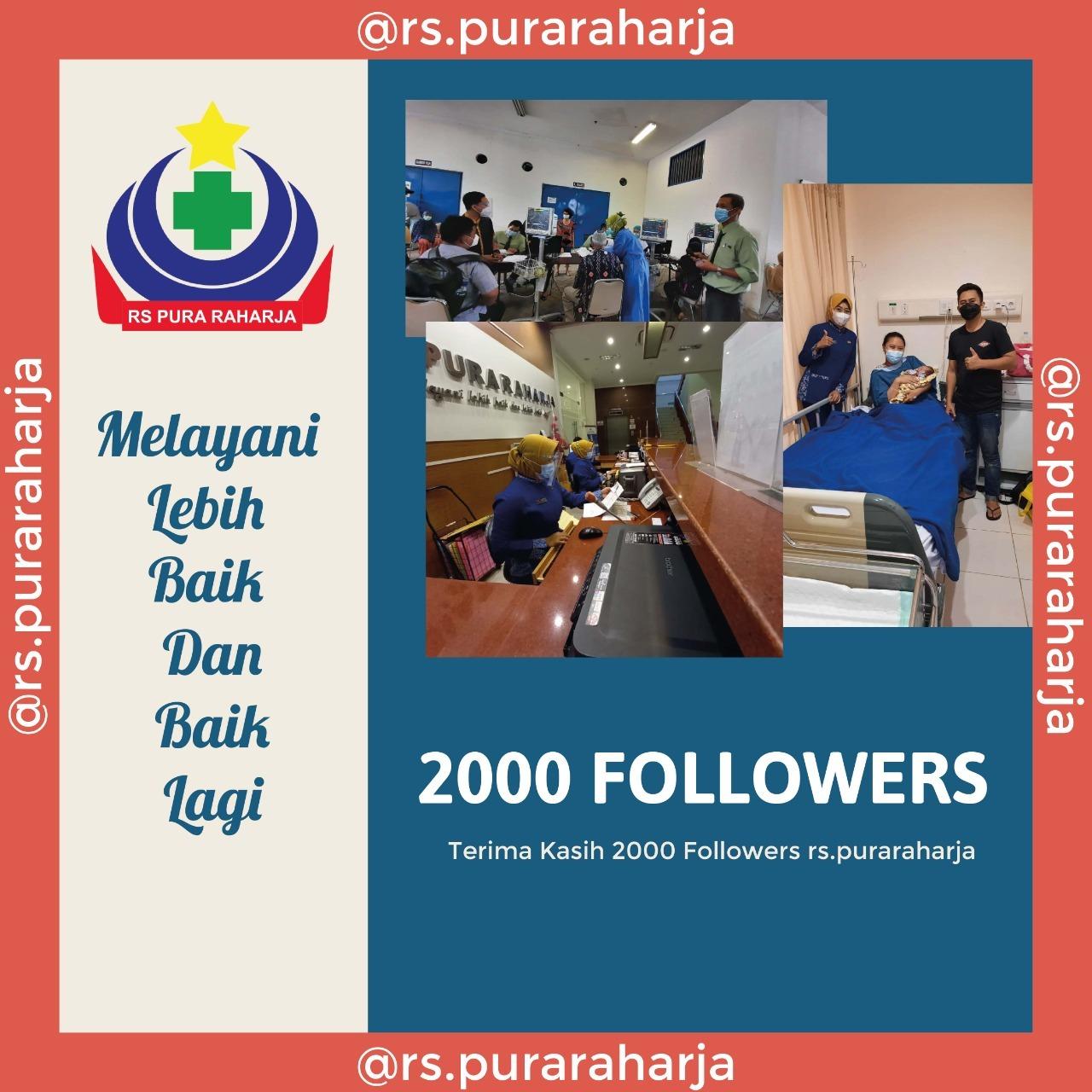 Terima kasih kepercayaan terhadap RS Pura Raharja